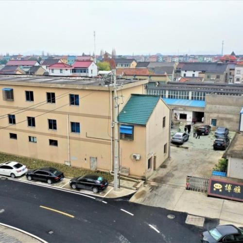 上虞崧厦厂房拍卖:绍兴市博雅伞业有限公司位于崧厦街道环城东路81号工业厂房